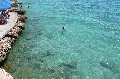 water is clear in Arvanitia